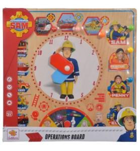 Fireman Sam Board 30x30 cm