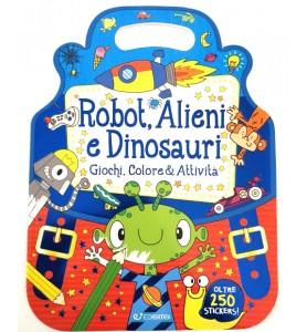 Stickers Robot Alieni e...