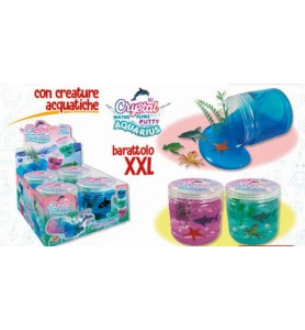 Crystal Water Slime Putty...