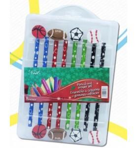 Set 12 matite con Gomma...
