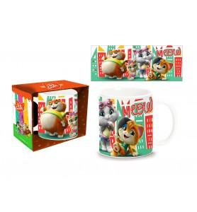 44 Gatti Mug Tazza in Ceramica
