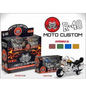 Moto Custom a Retrocarica...